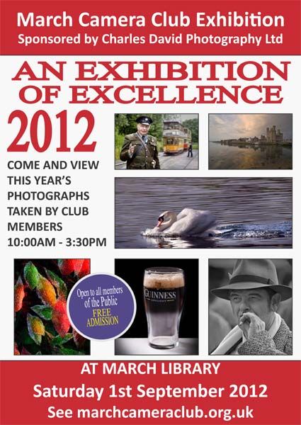 March Camera Club Exhibition 2012